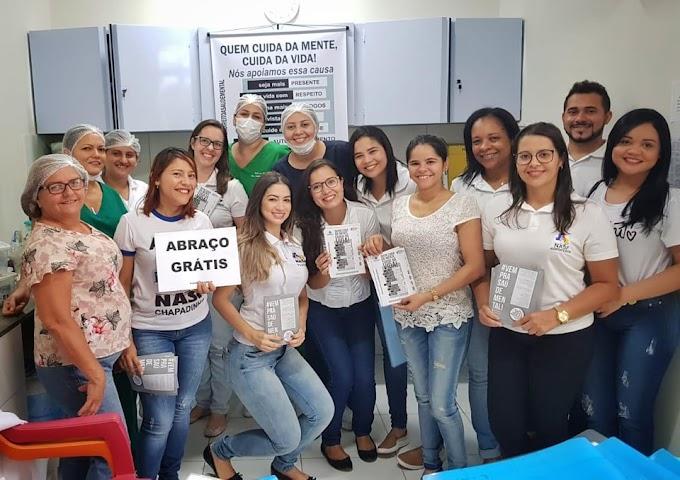 AÇÃO DO JANEIRO BRANCO CHEGA AO HAPA