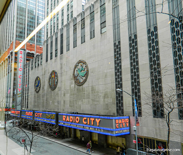 Radio City Music Hall, Nova York