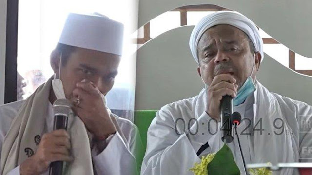 Sambil Tersedu-sedu, Ustaz Abdul Somad Tanggapi Para Penghina Habib Rizieq Shihab