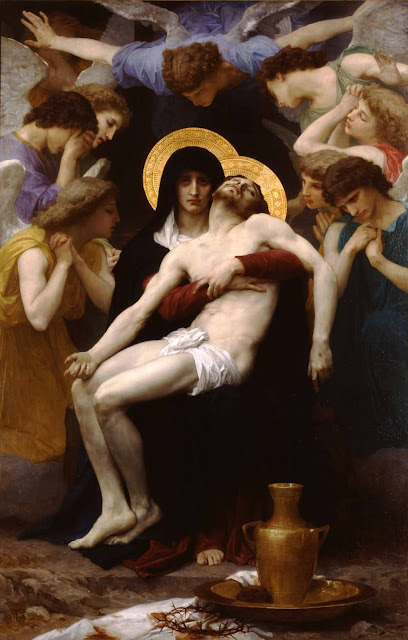 Адольф Вильям Бугро - Пьета. Оплакивание Христа (1875)