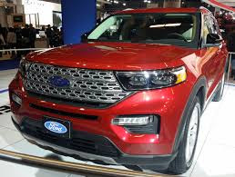 2020 Ford explorer xt