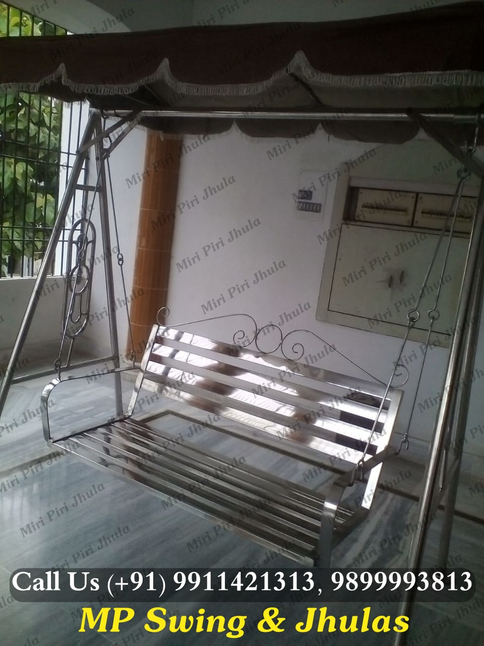 Stainless Steel Home Swing Jhulas