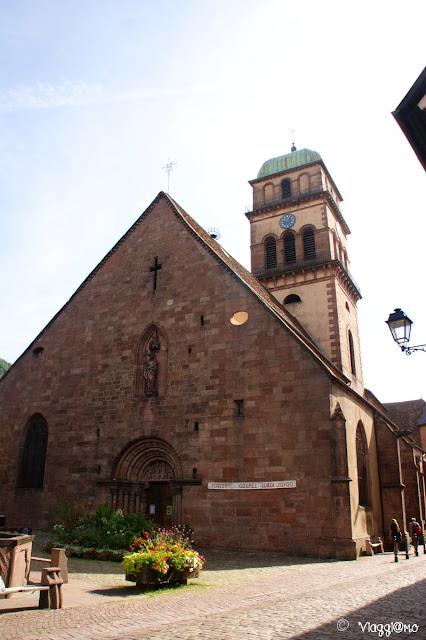 L'Eglise di Saint Croix è tra i Monumenti Storici di Kaysersberg