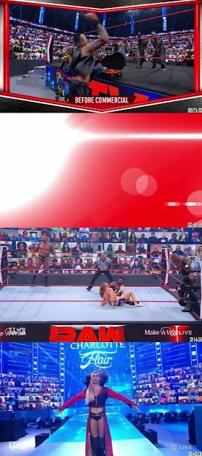 Download WWE Monday Night Raw 300MB HDRip 26th April 2021 || MoviesBaba 1