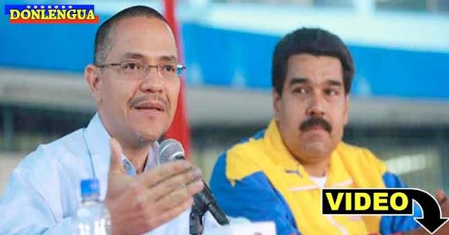 DICTADOR | Maduro le ordenó a Ernesto Villegas que lo aplaudiera durante un discurso