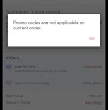 (Solved)Zomato Promo Code Not Applicable Solution