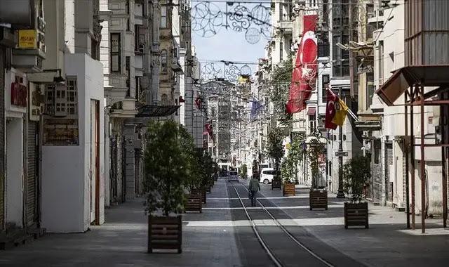 متى سينتهي حظر التجول في تركيا؟