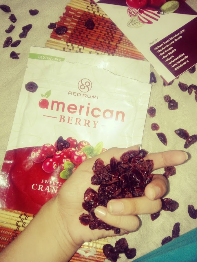 UTI (Urinary Tract Infection) Cure by Dried Cranberries