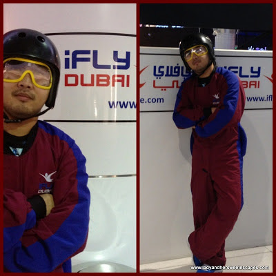 Ed flew at PlayNation's Ifly Dubai