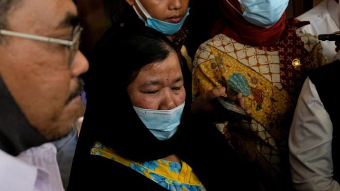 Kepulangan Mengharukan TKI Eti Toyib yang Lolos dari Hukuman Pancung