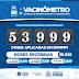 VACINÔMETRO: SENHOR DO BONFIM MUNICÍPIO JÁ APLICOU 53.999 DOSES DA VACINA.