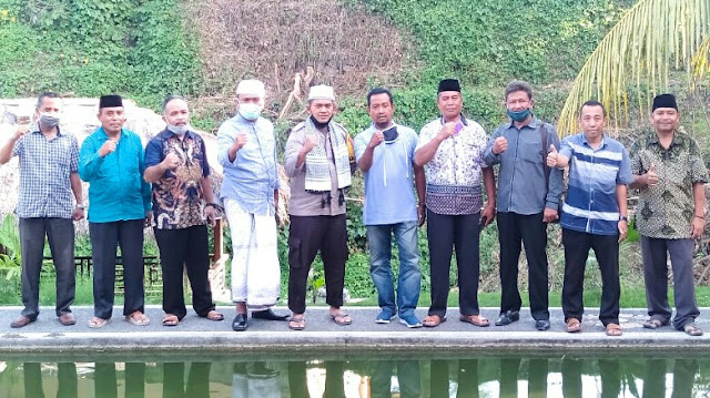 Menuju New Normal, Kapolres Silaturahmi dengan Guru Madrasah se-Lotim
