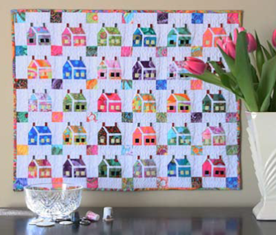 Quilt Inspiration: Free pattern day! House quilts : house patterns for quilts - Adamdwight.com