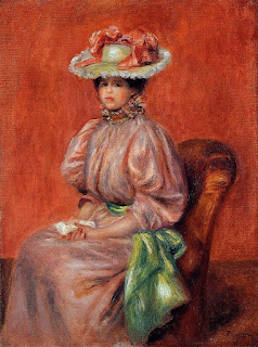 Pierre Auguste Renoir - Seated Woman