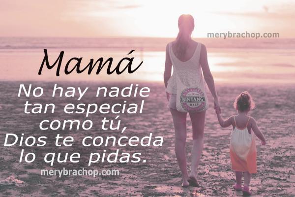 bellas frases cristianas para mi mama no hay nadie como tu madre, mensaje cristiano buenos deseos mama