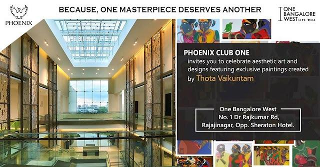 Exquisite Art Exhibition by Thota Vaikuntam at Phoenix Club One Event
