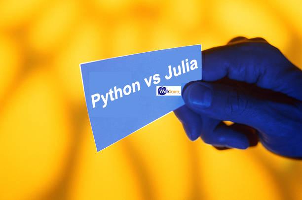 Le meilleur langage pour la Data Science avec Python vs Julia , WEBGRAM, meilleure entreprise / société / agence  informatique basée à Dakar-Sénégal, leader en Afrique, ingénierie logicielle, développement de logiciels, systèmes informatiques, systèmes d'informations, développement d'applications web et mobiles