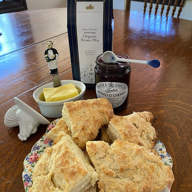 Easy Scones and Jam from Amazon