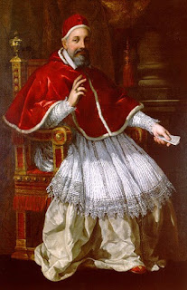 Pope Urban VIII - Matteo Barberini -  was sympathetic to Galileo