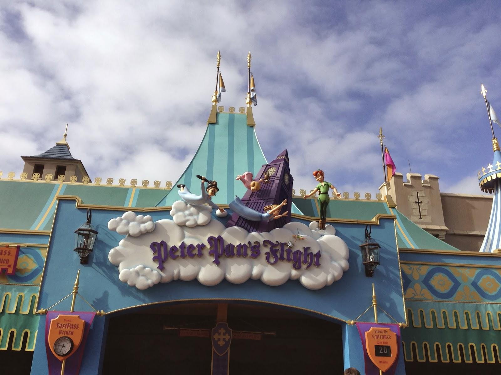 Peter Pan's Flight ride, Magic Kingdom, Walt Disney World