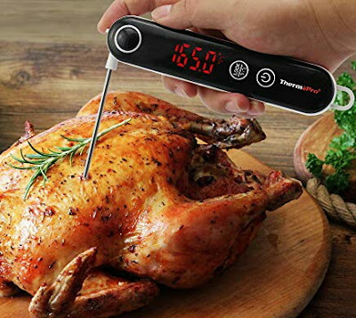 TP18 BBQ Thermometer - Digital ThermoPro Temperature Monitor for Cooking