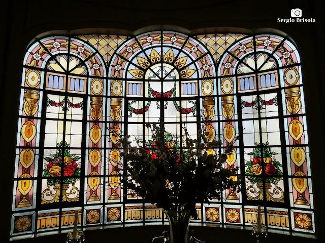 Vitral Casa Conrado do Palacete Rosa - São Paulo