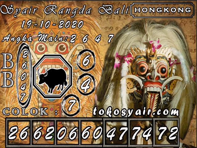 Kode syair Hongkong senin 19 oktober 2020 212