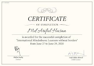 International Mindedness: Learners without borders | Bidita Sadiq and EMK Center