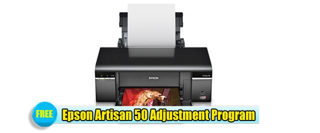 Epson Artisan 50 Adjustment Program