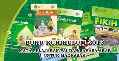 Download Buku Qur'an Hadits Mi Kurikulum 2013 Kelas 1, 2, 3, 4, 5, 6