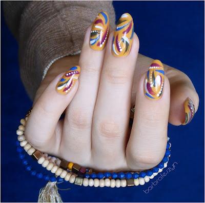 Etno paznokcie