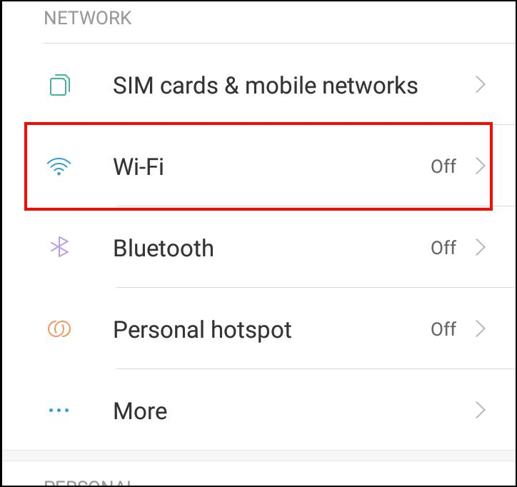 how to connect mobile to mobile wifi