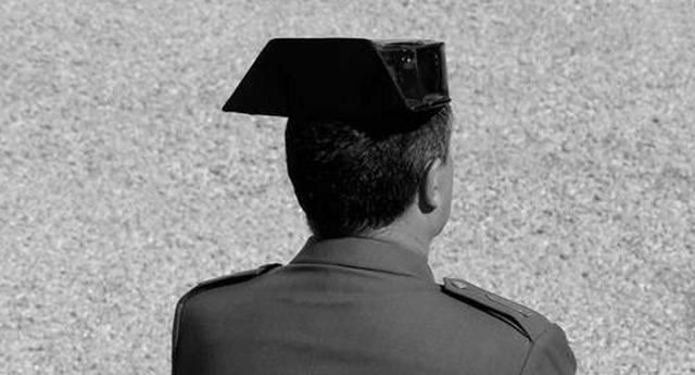Cesado el número tres de la Guardia Civil Fernando Santafé