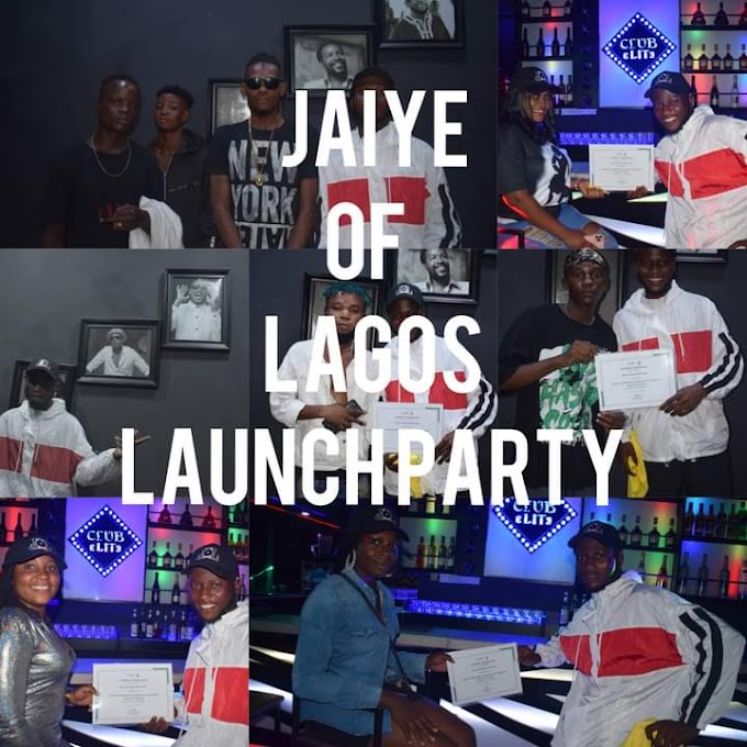 [E-news] Jaiye of Lagos records finally launched!! See pictures!!! #Arewapublisize