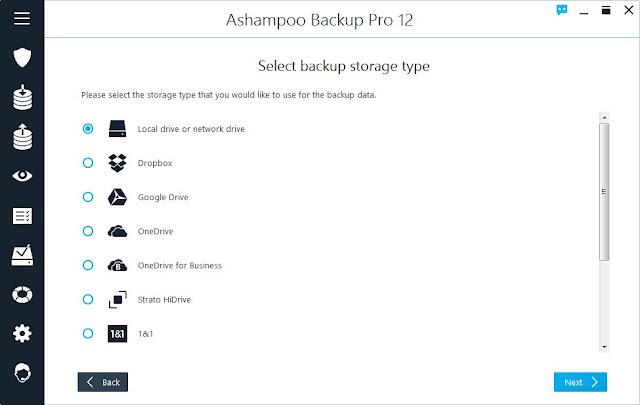 Screenshot Ashampoo Backup Pro 12.05 Full Version