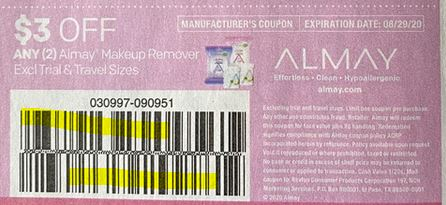 Almay coupon  8-16