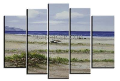 http://www.cuadricer.com/cuadros-pintados-a-mano-por-temas/cuadros-paisajes/cuadros-paisajes-playa-mar-horizonte-pintado-mano-dormitorios-salon-1562.html
