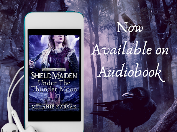 Now Available: Shield-Maiden: Under the Thunder Moon is Now Available on Audiobook
