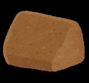 シフォンケーキのイラスト(カット・チョコ)