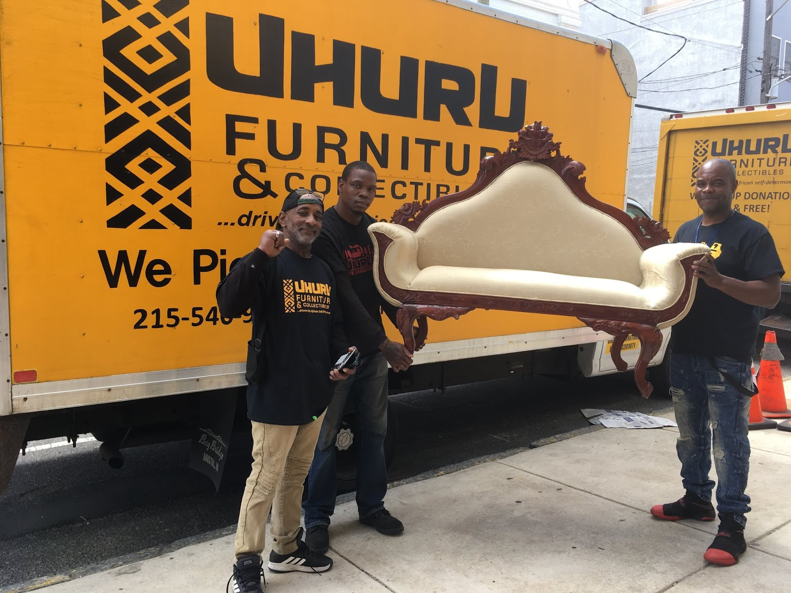 Uhuru Furniture Collectibles Donate