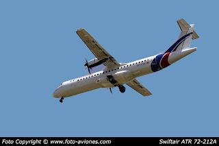 AVIÓN ATR 72 EC-LYB