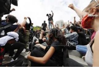 Nuevas protestas en Nueva York tras saqueos