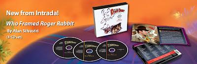 intrada releases 3 disk who framed roger rabbit soundtrack - Who Framed Roger Rabbit Soundtrack