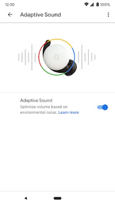 Google Pixel Buds interface