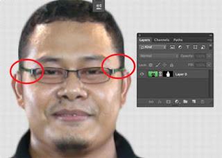 cara hapus layar hijau /green screen