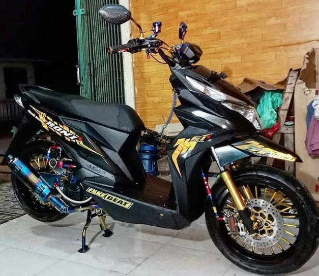 Pilihan Modifikasi Motor Beat Street Kekinian Terbaru 2020 Dudungmaman07