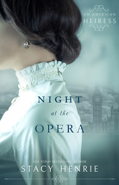 COVER REVEAL: Night at the Opera by Stacy Henrie