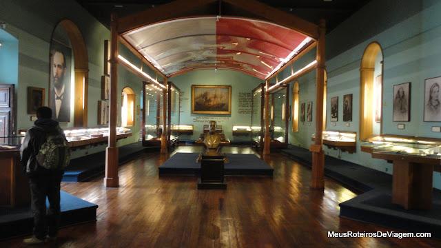 Salão do Museo Naval y Maritimo - Valparaiso