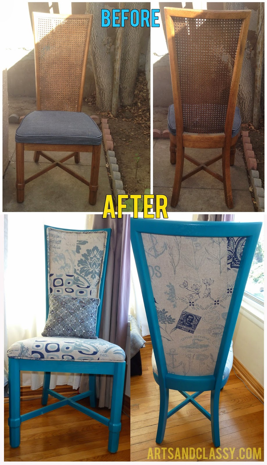 http://www.craftyallieblog.com/2014/03/diy-curb-side-cane-back-chair-flip.html