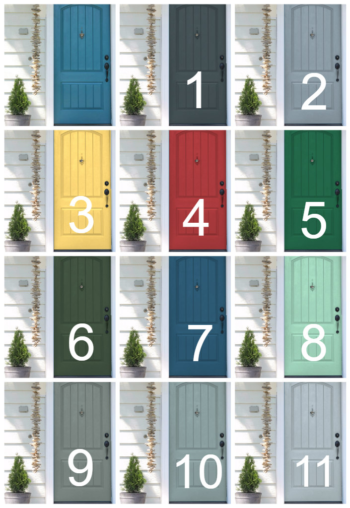 If Not Head Here First To Make Your Guess On Which Color You Think I Painted Our Front Door And Then Come Back Over See Are Right